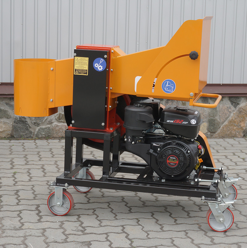 Измельчитель веток 2В-100Б (Бензин 18л.с)
