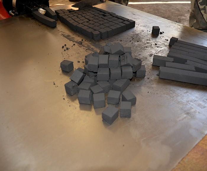 Пресс пыли древесного угля, лигнина, шнековый ПШ-500Б