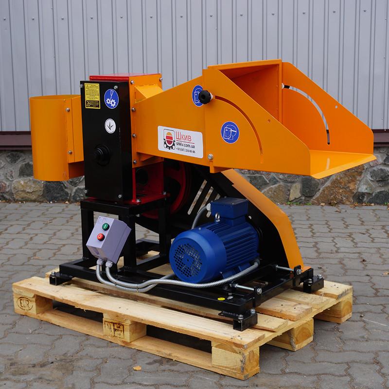Измельчитель веток 2В-80Е (Электромотор 7,5 кВт)